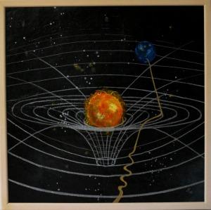 Raum- Zeitkrümmung